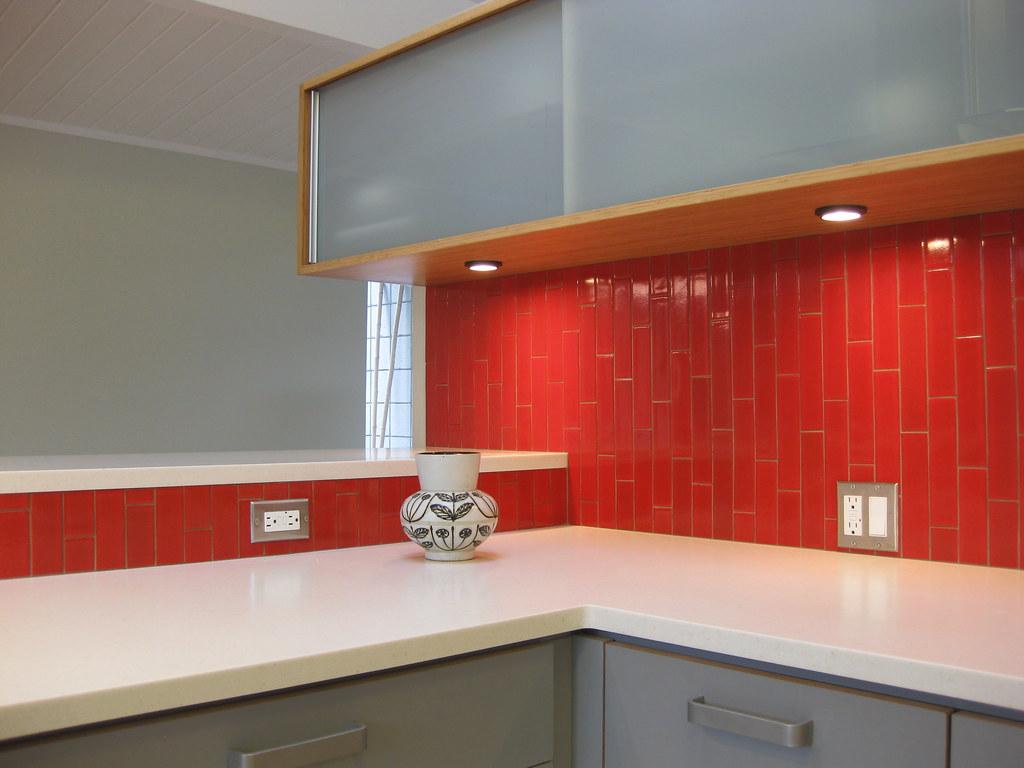 Bamboo Kitchen Tile Backsplash