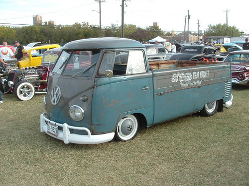 VW Bus Truck Single Cab at Pistons and Paint in Denton, TX ...