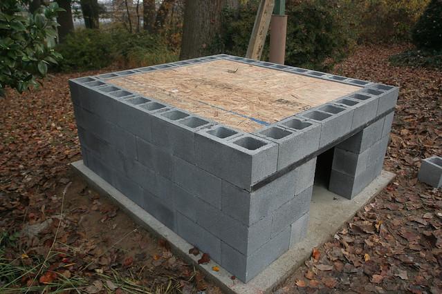 Concrete Dog House