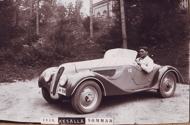 Arvo Sorri And First Bmw In Finland Summer 1939 Rade