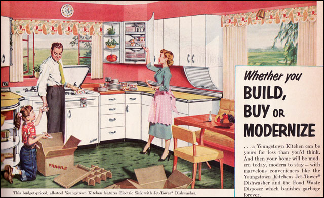 ... 1953 Youngstown Kitchen | By American Vintage Home
