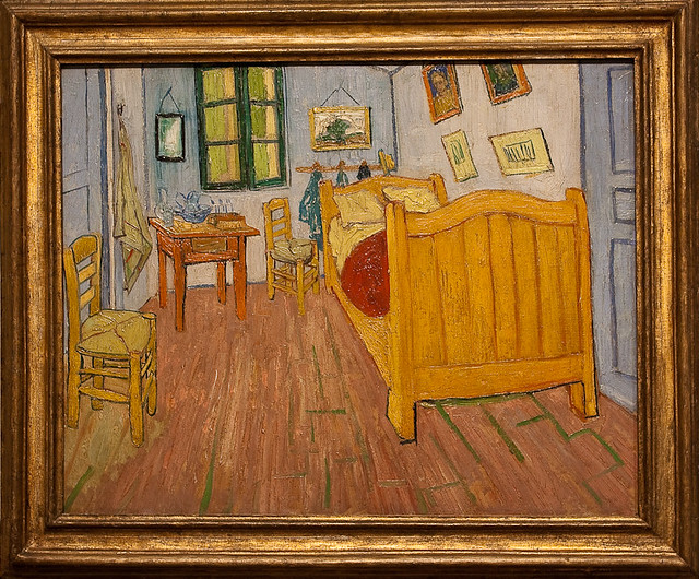 Van Gogh Museum - The bedroom, 1888