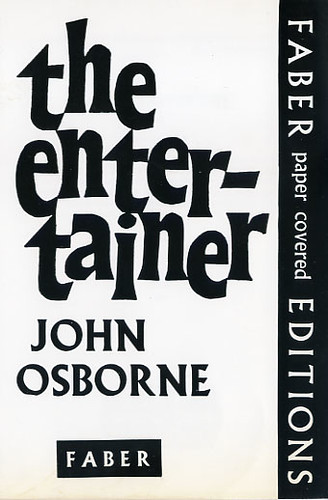 essays-the entertainer john osborne The entertainer john osborne gradesaver offers study guides, application and school paper editing services, literature essays, college application essays and writing help.