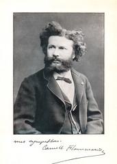 Portrait of Camille Flammarion (1842-1925), Astronomer