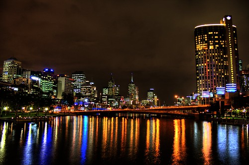 Melbourne Yarra River HDR | by AdamSelwood