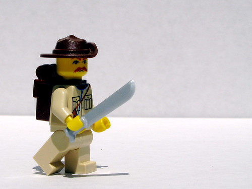 BrickArms Machete prototype | by Dunechaser