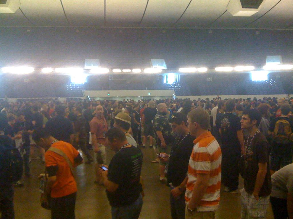 Anaheim Convention Center Car Show