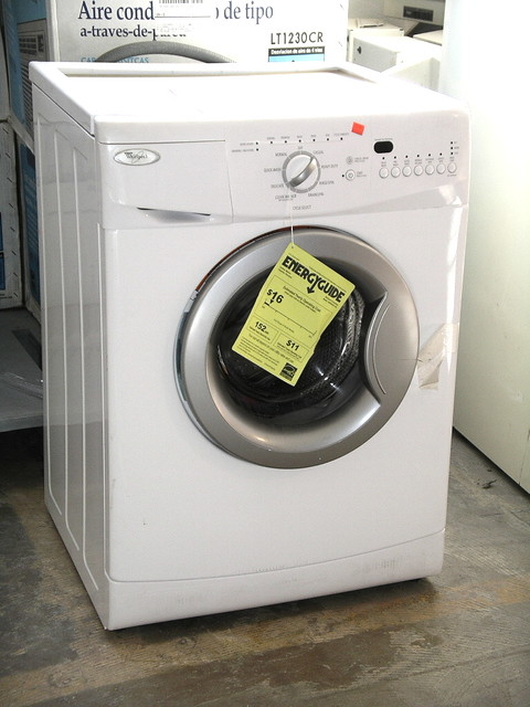 Apartment Size Washer $400 | Whirlpool Clothes Washer, 34H ...