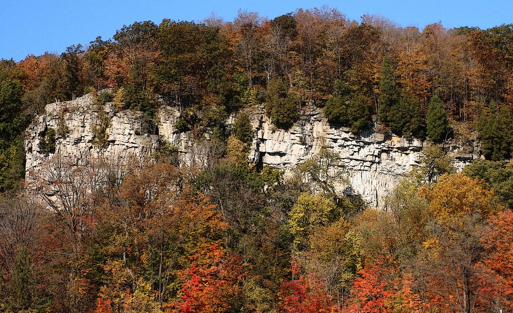 Niagara Escarpment Halton Hills Ontario Fall 2008