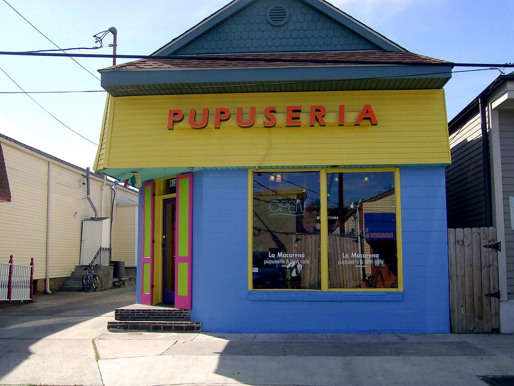 La Macarena Pupuseria Latin Cafe New Orleans La