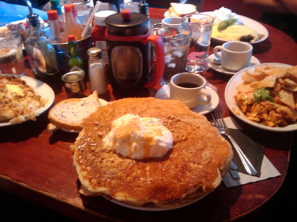 The Griddle Cafe La