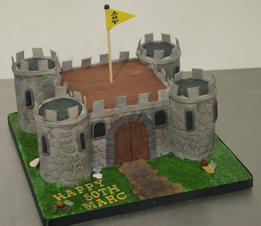 Birthday Castle Cake Ideas