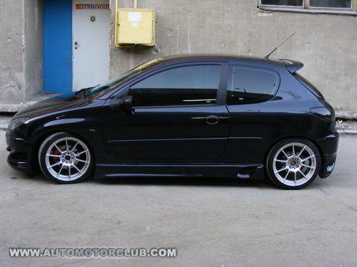 Peugeot 206 Tuning by www.automotorclub.com | Peugeot 206 ...