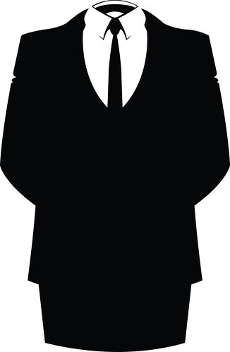 anonymous suit logo flickr photo sharing
