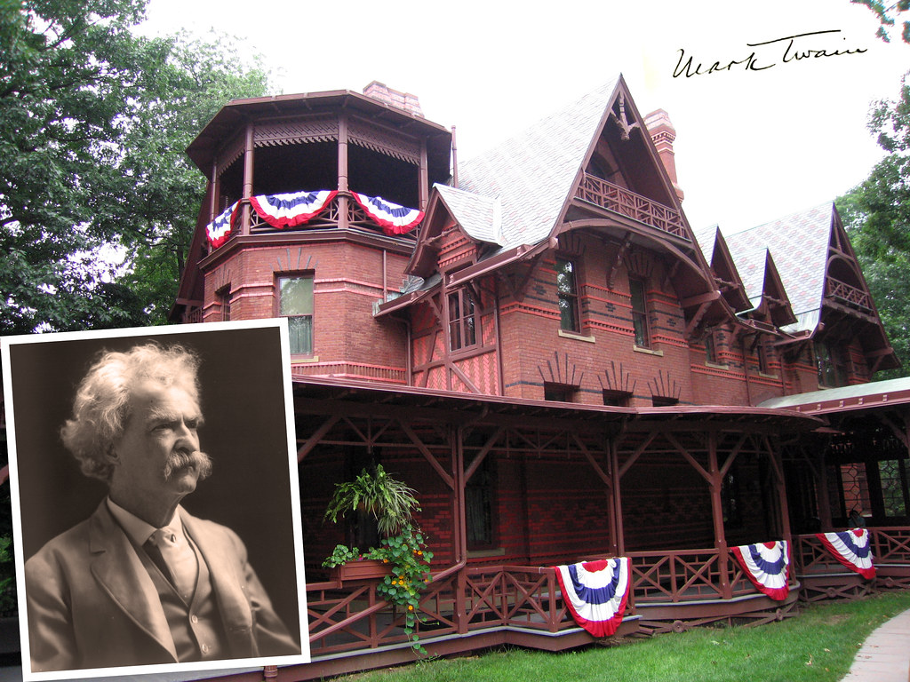 Mark twain his house in hartford ct the mark twain for The hartford house