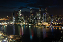 Singapore city skyline at night | by kelvin255