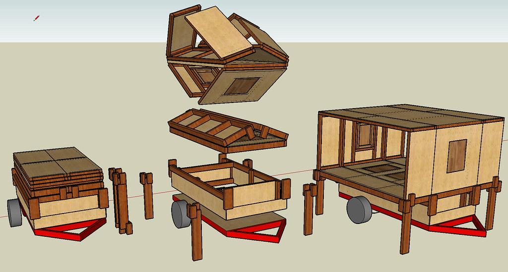 Build A Fold Down Queen Bed