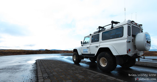 Arctic Truck Converted Landrover In Iceland Brian Worley