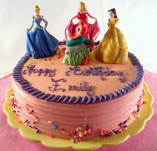 Princess Birthday Cake Images 2018 : Birthday Cake Princess Our Disney Princess birthday ...