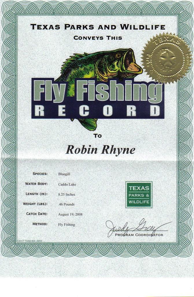 Caddo lake bluegill fly fishing record rrhyne56 flickr for Caddo lake fishing report