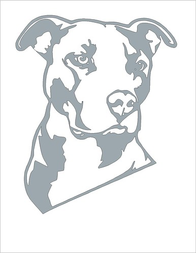 pitbull pumpkin carving stencil flickr photo sharing. Black Bedroom Furniture Sets. Home Design Ideas