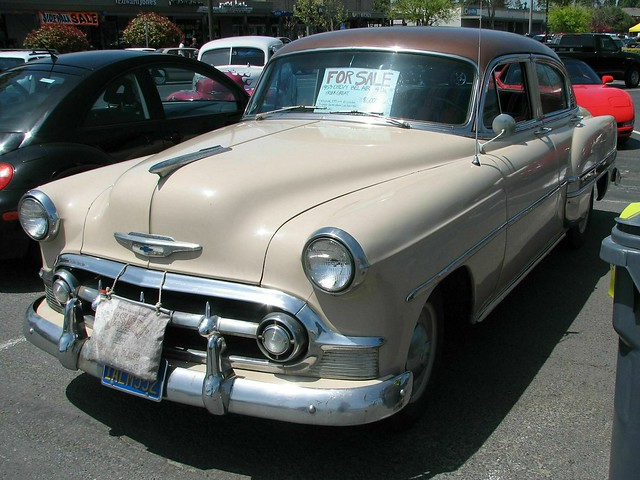 1953 chevrolet bel air 4 door sedan 39 1alm552 39 1 flickr for 1953 chevrolet belair 4 door