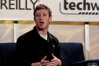 Web 2.0 Summit Day Two - Mark Zuckerberg | by b_d_solis