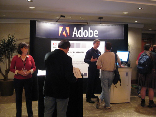 QCon 2008 San Francisco - Adobe Booth | by mansillaDEV