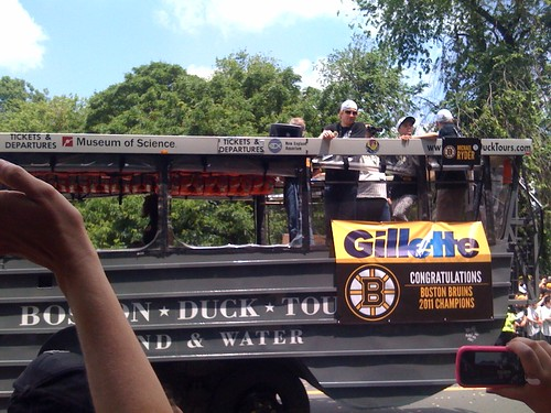 Boston - Bruins Parade - The Bruins on the Duck Boats 31 | by Polterguy30