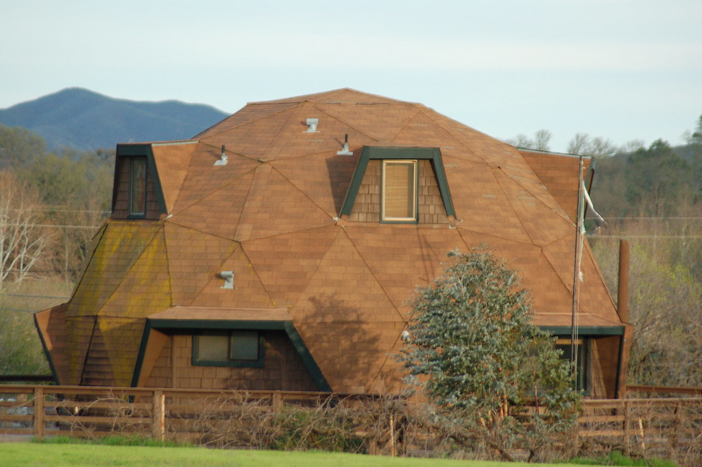 dodecahedron house