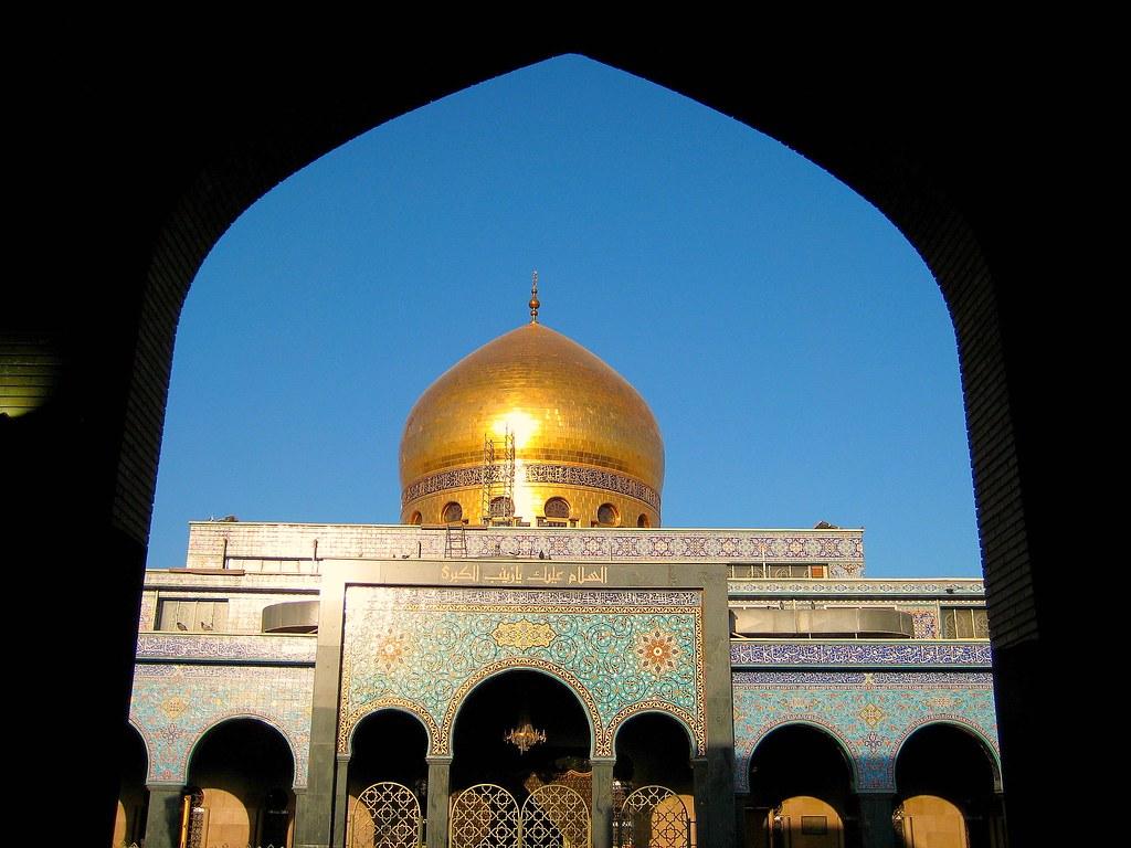 Sayeda Zainab Shrine Damascus Syria Sayeda Zainab