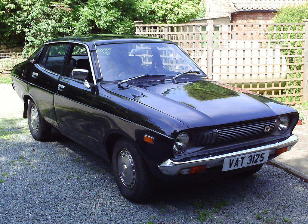 1977 Datsun 120y My Lovely Car Simon Collison Flickr
