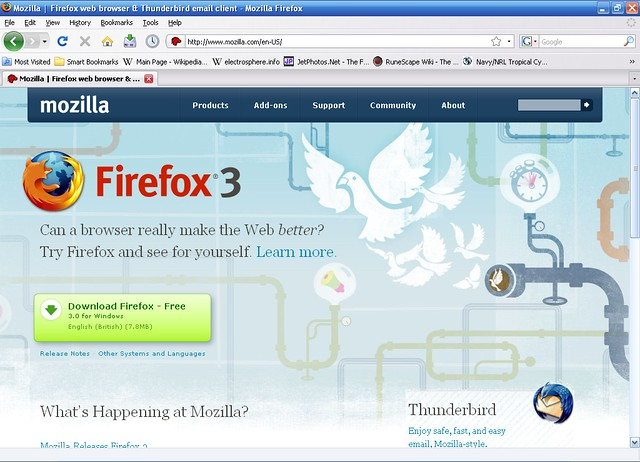 Firefox для Windows XP Sp3 скачать