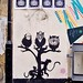 Monkeys in a tree - street art, Hoxton, London
