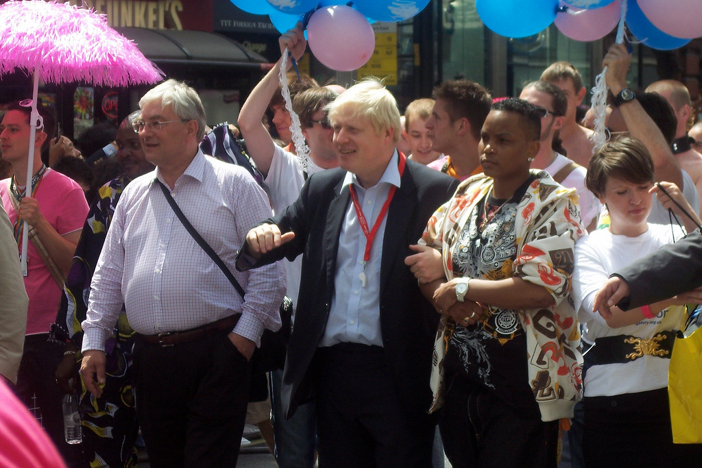 Boris Johnson London Fashion Week Running In Park