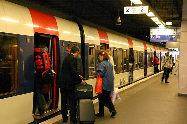 B4  we took the RER B4 to SevranLivry (need to transit…  Flickr