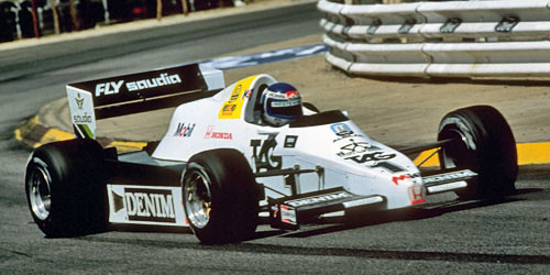 F1 Williams-Honda FW09 - 1983 | Williams-Honda FW09 (1983) P ...