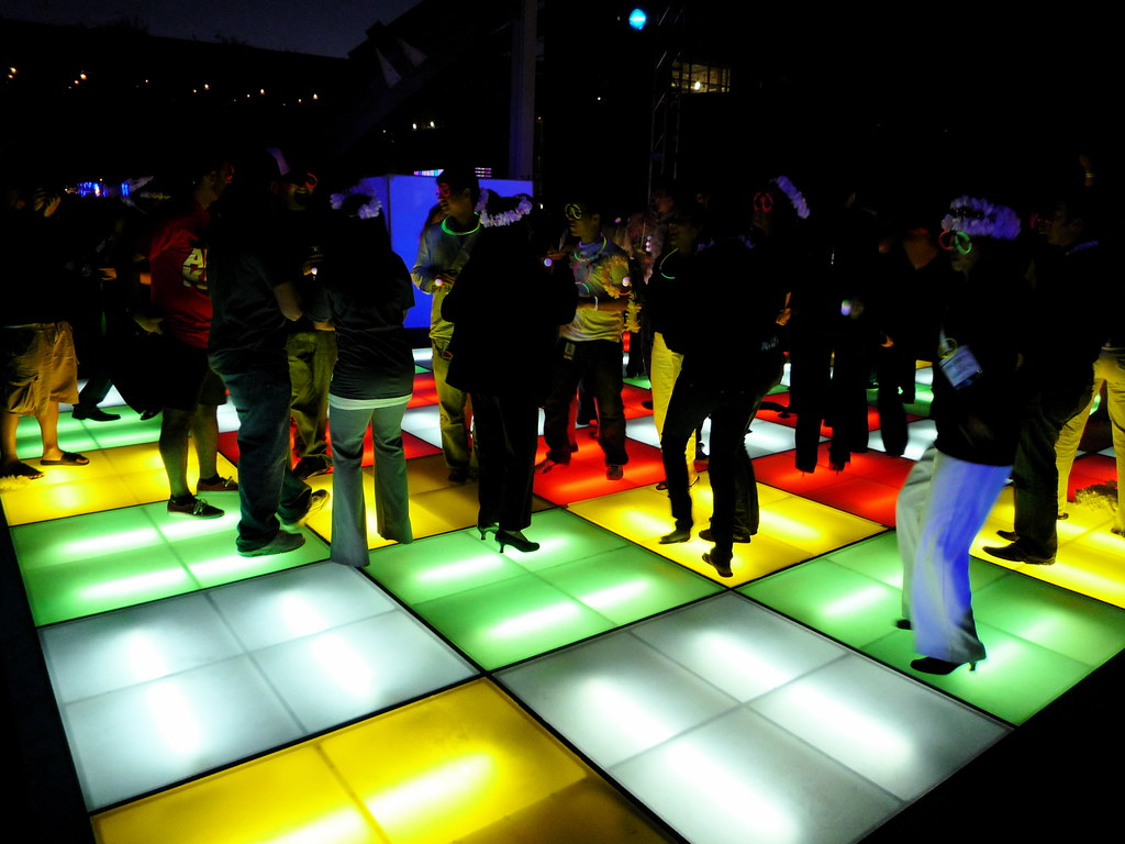 Cool Light Up Dance Floor Jason Eppink Flickr