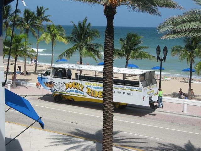 Duck Tour Fort Lauderdale Florida