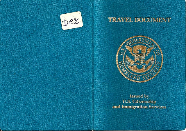 Us Travel Document Travel Documents Are Issued As