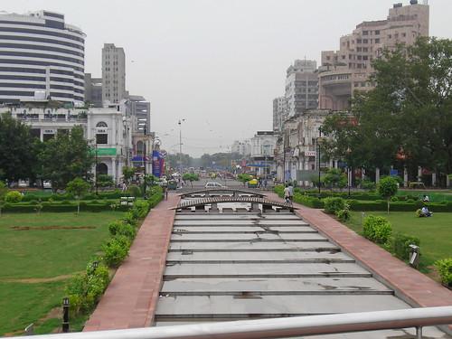 Barakhamba Road New Delhi A View Of Barakhamba Road