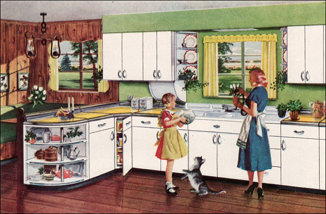 1950 Youngstown Kitchen Ad I M A Sucker For Any Ad