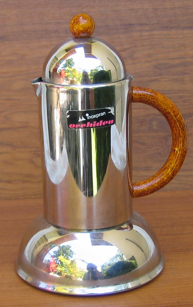 Inoxpran Italian High End Espresso Maker Mint Maker