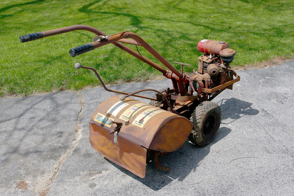 1971 Mtd Tractors : Img old troy bilt rototiller goodbye friend i