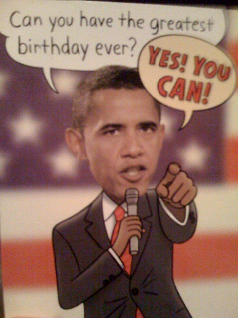 Obama Birthday Card Nick Douglas Flickr