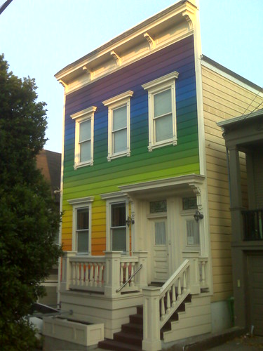 Groovy Rainbow House in Noe Valley, SF | by Mollissima!