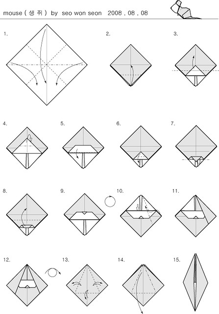 Origami Mouse Diagram Diy Enthusiasts Wiring Diagrams