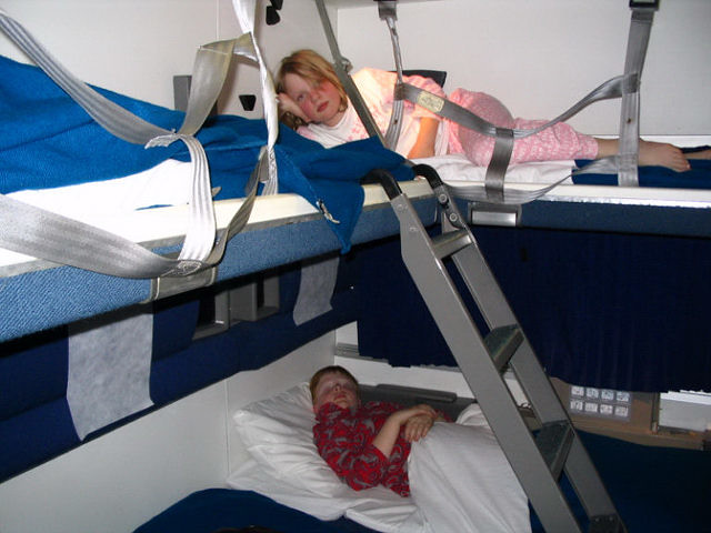 Family Bedroom, California Zepher | Superliner Sleeper, Cali… | Flickr