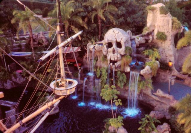 Skull Rock Disneyland Scanned Half Frame Ektachrome