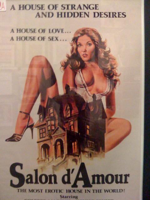 Vegas Heritage Museum Vintage Adult Film Posters  Jeff -9152